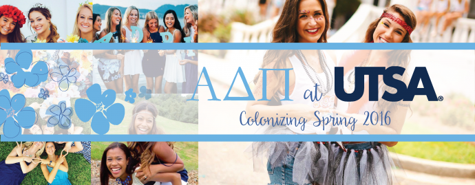 Photos Courtesy of UTSA ADPi