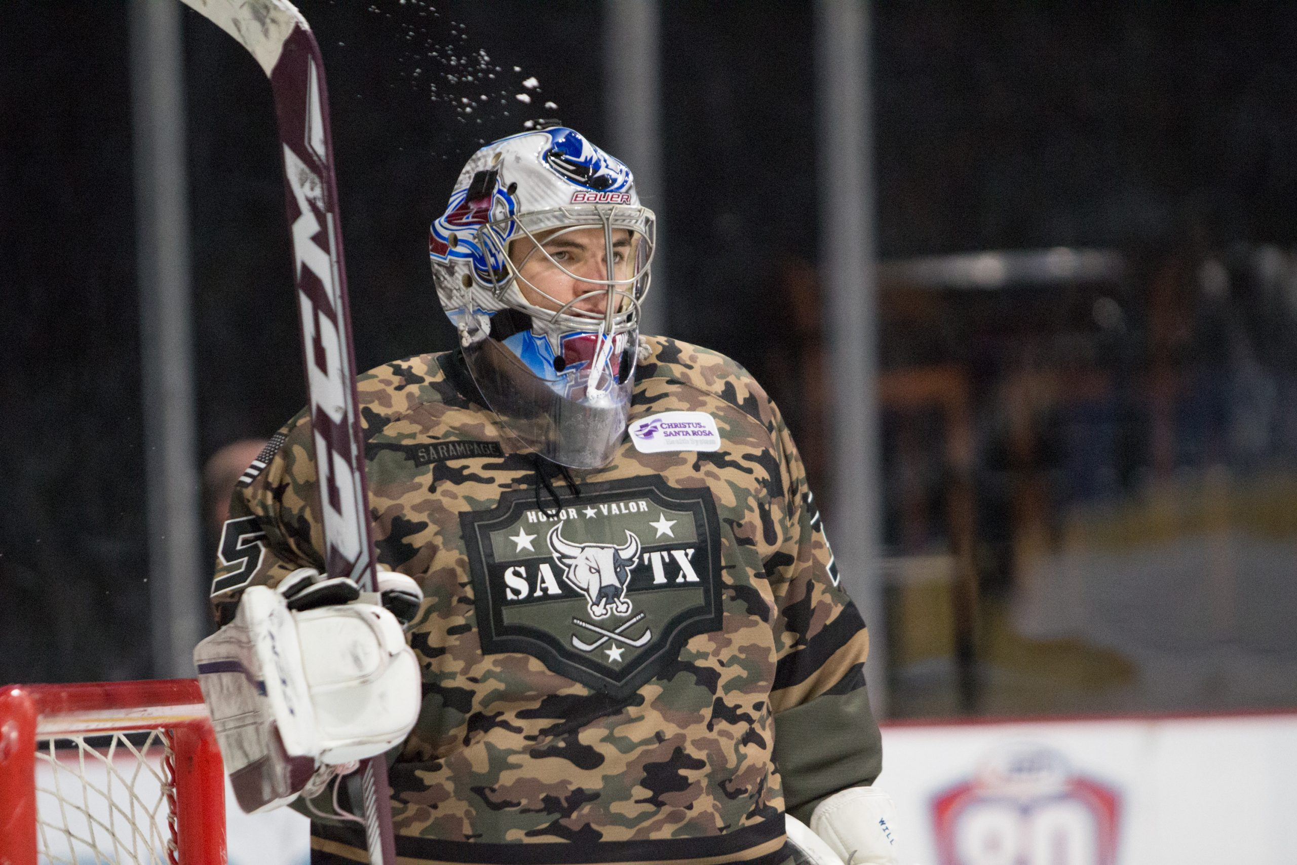 Rampage Goalie Roman Will has assumed the starting role in Calvin Pickard's absence.