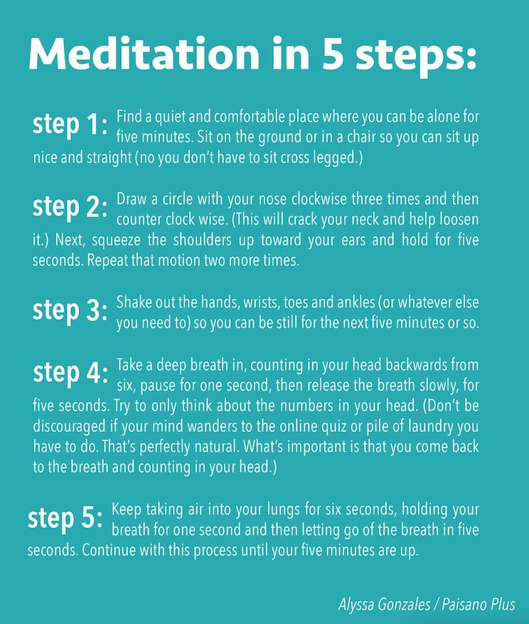 Mediation steps