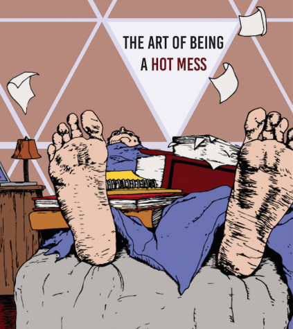 The art of being a hot mess