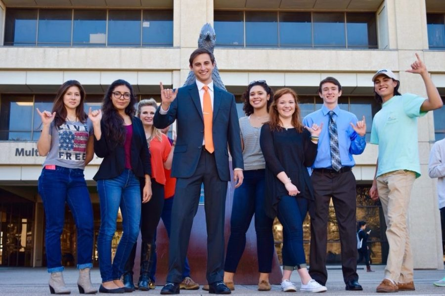 Get involved: a message from UTSA Student Government Association President Andrew Hubbard