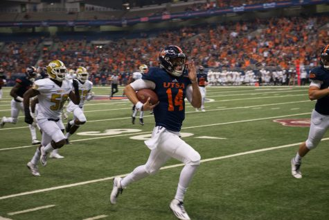 Wilson, Roadrunners answer early questions, defeat Alabama State 26 -13