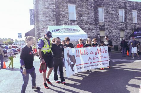 Walk a Mile in Her Shoes event highlights sexual assault