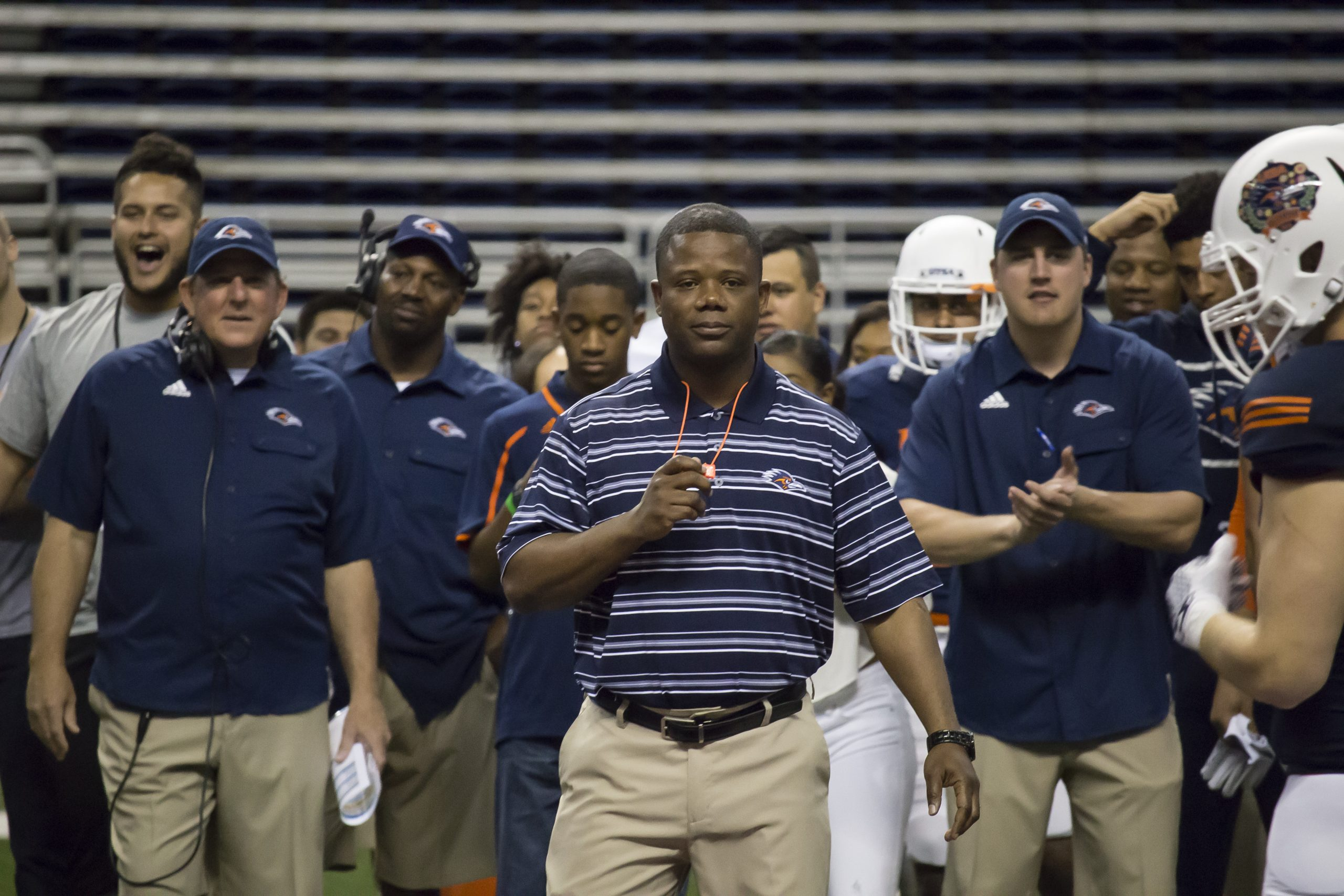 Frank Wilson, in his first season as UTSA footballs's head coach, is bringing a new style of play to the football program. David Guel, The Paisano
