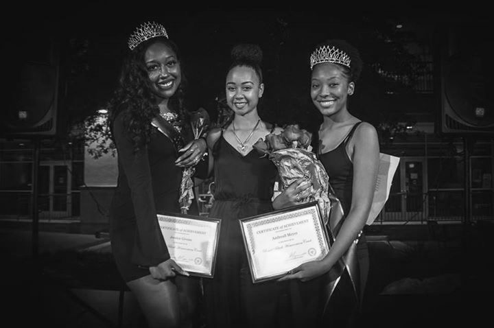 The Black Royalty Court, an event created by the NAACP, recently crowned Jessica Givens and Andreall Meyer. Courtesy of NAACP