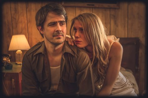 Damon C. Mentzer as Eddie and Holly Cliford as May in the play Fool for Love. Phtotos courtesy of The Playhouse Theater