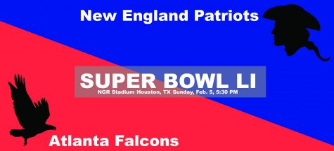 Superbowl LI: New England Patriots vs Atlanta Falcons