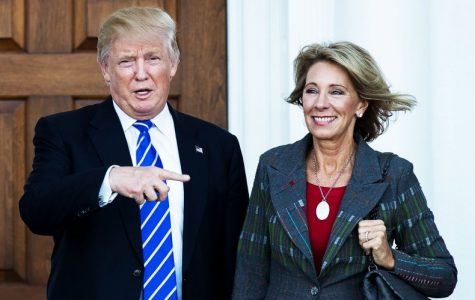 Trump's choice for Education Secretary is a threat to Title IX
