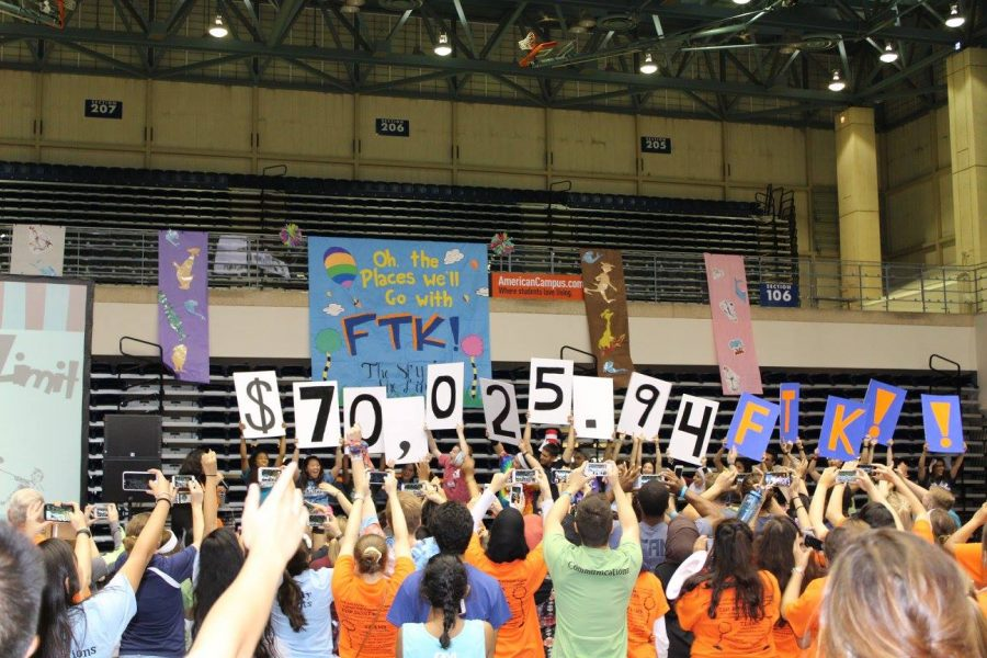 For The Kids raises $70,025.94 at marathon. Photo courtesy of FTK
