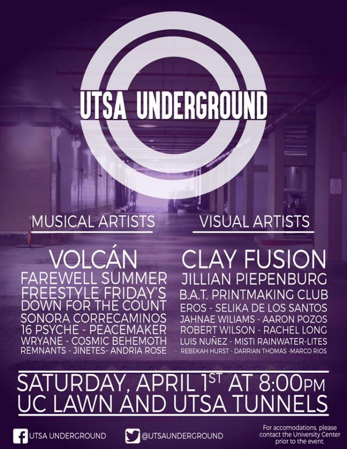 Musicians of Business prepare for UTSA Underground