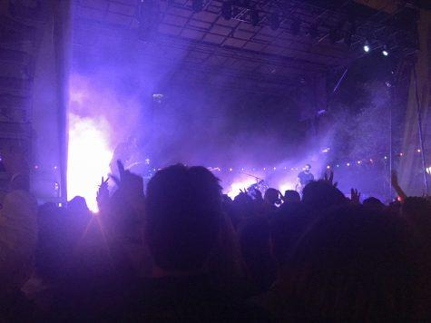 Bastille playing at San Antonio's Maverick Festival. Jessica Salinas, The Paisano.