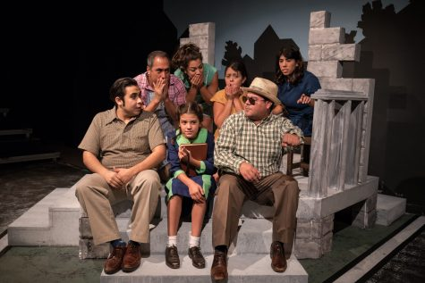 "Cast of ""The House on Mango Street."" Courtesy of The Classic Theatre"