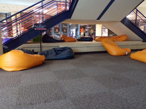 bean bag chairs in the UC