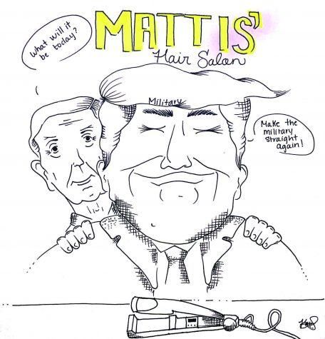 """Mattis' Hair Salon"" by Karen Garcia."