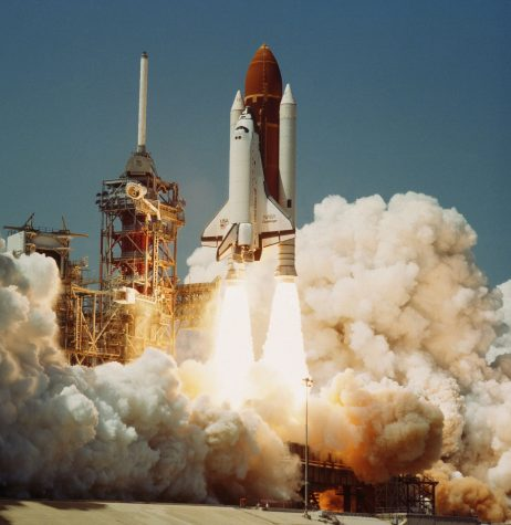 In 1986, The Space Shuttle Challenger exploded during its 10th mission run. Ronald E. McNair, namesake of the McNair Scholars Program, was one of the seven crew members killed onboard. Photo Courtesy of Creative Commons