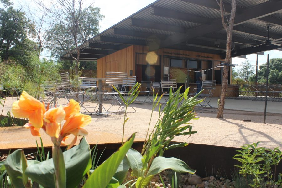 The new state of the art CHEF teaching kitchen in the Goldsbury Foundation Pavilion will serve as communal space to disseminate information regarding growing and cooking veggies and fruits. Enrique Bonilla, The Paisano.