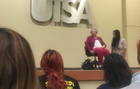 Holocaust survivor Rose Williams visits UTSA