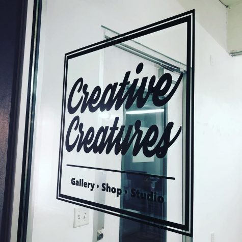 Founders Karen and Eddy Rios open up shop and gallery at Blue star Arts Complex. Photo Courtesy of Creative Creatures