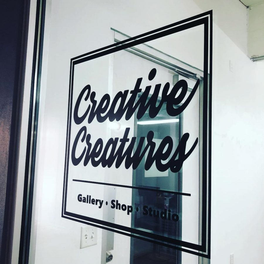 Founders+Karen+and+Eddy+Rios+open+up+shop+and+gallery+at+Blue+star+Arts+Complex.+Photo+Courtesy+of+Creative+Creatures