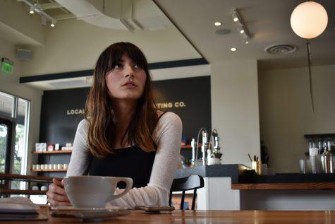 Cantu at Local Coffee. Isabel Camacaro/The Paisano