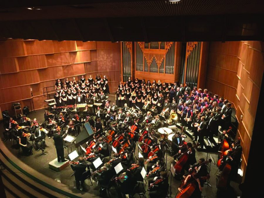 UTSA's talented music department puts on beautiful concerts with their Winterlude concert series for the masses to enjoy. Photo Courtesy of Dept. of Music