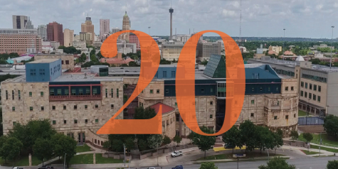 President Eighmy shares his vision of the Downtown Campus among San Antonio leadership. Photo Courtesy of UTSA Today