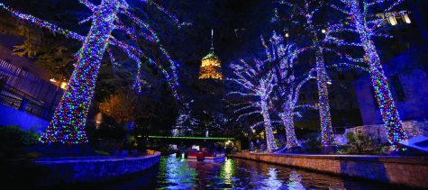 The San Antonio River Walk embraces the holiday spirit by lighting up the cypress trees that guide you through the heart of San Antonio. Photo Courtesy of The River Walk
