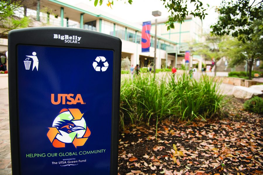 These+trash+compacters%2C+found+all+over+campus%2C+are+projects+of+the+first+Green+Fund+at+UTSA.%0A%0AEthan+Pham%2FThe+Paisano