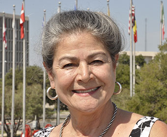 Director of Texas Folklife Festival Jo Ann Andera Photo Courtesy of UTSA