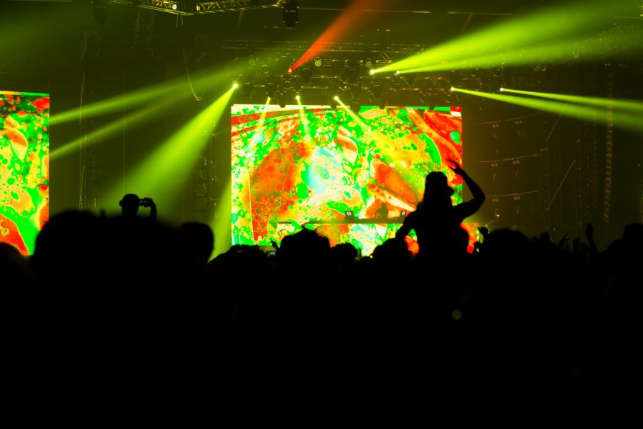 Bassnectar closes out day one of LAN. Ethan Pham, The Paisano.
