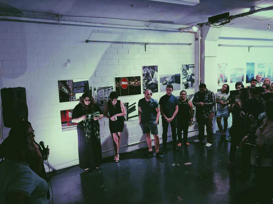 Last year's StreetFatale Volume I event at Movement Gallery. Photo courtesy of Carmen Peña