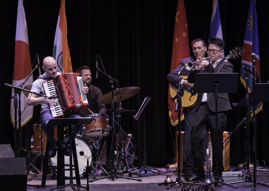 International sister city jazz ensemble/musical bridges