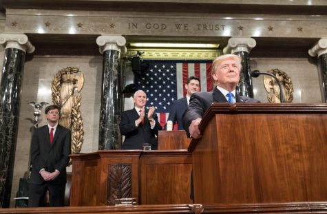 Trump's State of the Union address. Creative Commons
