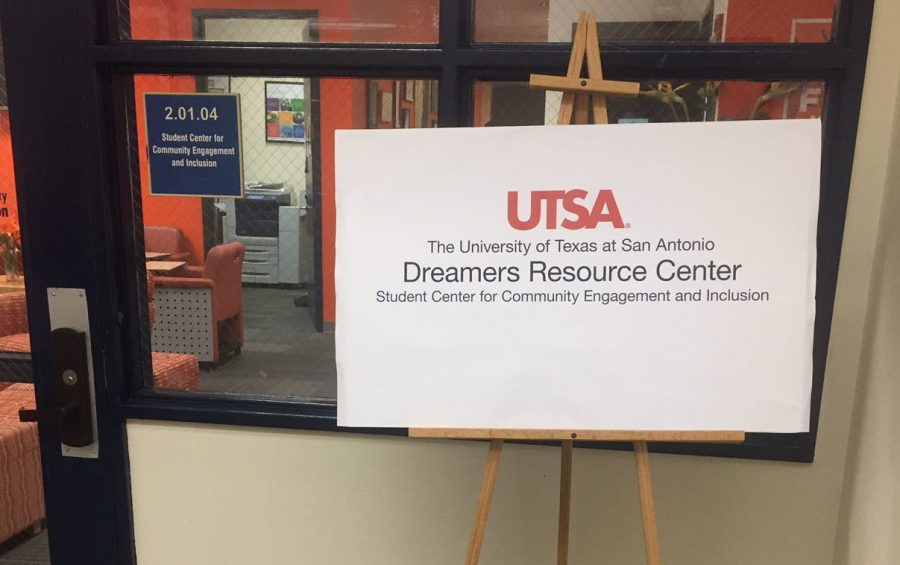 The entrance to the Dreamer's Resource Center. Courtesy of Heather Montoya/The Paisano