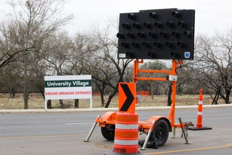 Construction can be seen along UTSA Blvd near main campus. Chase Otero/The Paisano