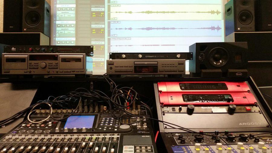 The+main+board+in+the+Music+Tech+Lab+and+its+various+preamps%2C+effects+and+mixers.+Photo+courtesy+of+MuTe