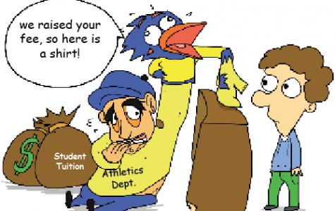Vote no on athletic fee hike
