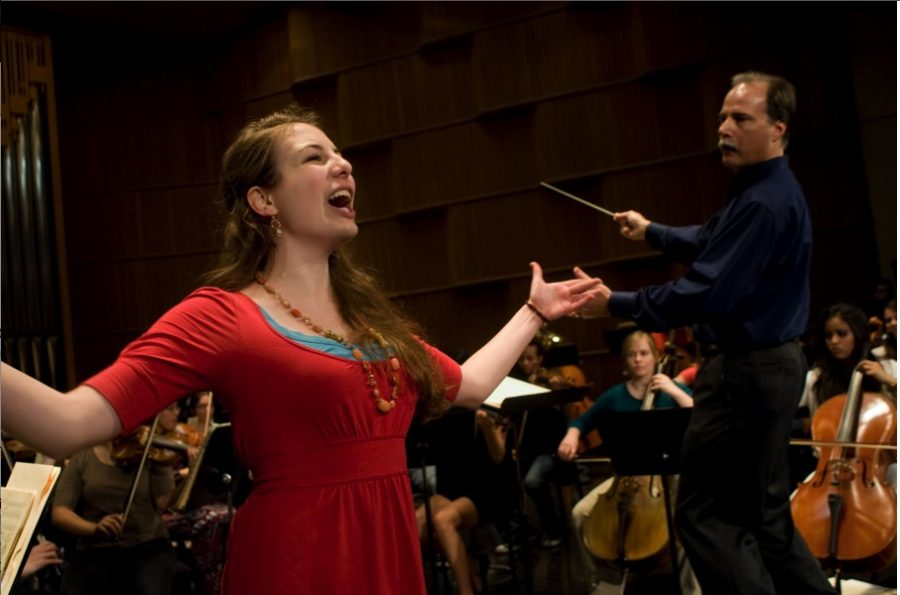 UTSA Orchestra's Aria Competition Winners Concert in 2011. Courtesy of Dept. of Music