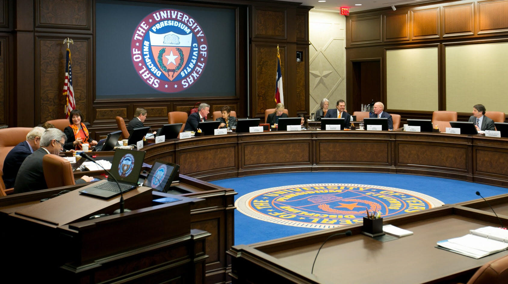 The UT System Board of Regents met to discuss all tuition and fee proposals for each UT school. Courtesy of UT System