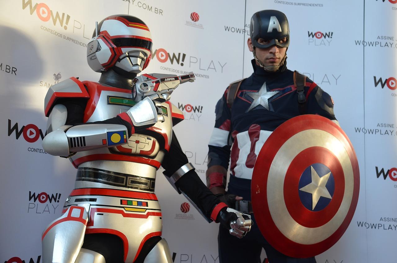 Order To Turn Its Geek Cosplay Captain America