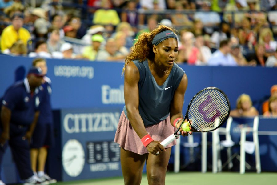 Serena+Williams+playing+tennis