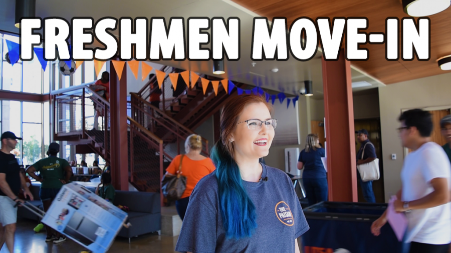 Freshmen Move In 2018