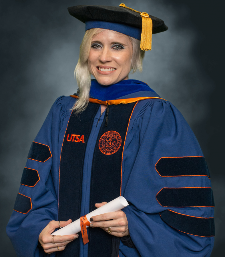 Stephanie Schoellman has degrees in English and creative writing. Photo courtesy of Stephanie Schoellman