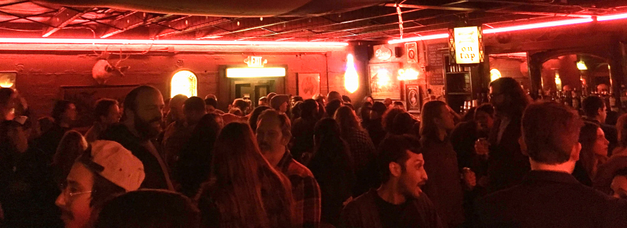 Crowd at the Lonesome Rose