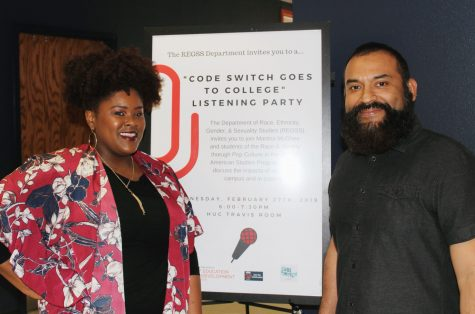 REGSS department hosts Code Switch listening party