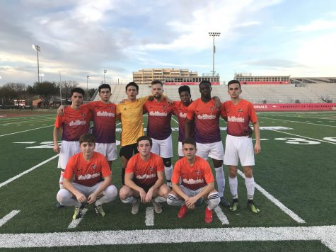 Men's club soccer opens spring season