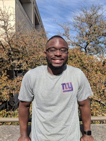 Humans of UTSA: Tomiwa Ogunye