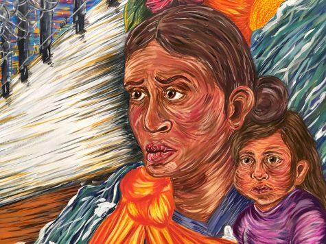"""""""El Sueno Americano""""; Cynthia Martinez."""