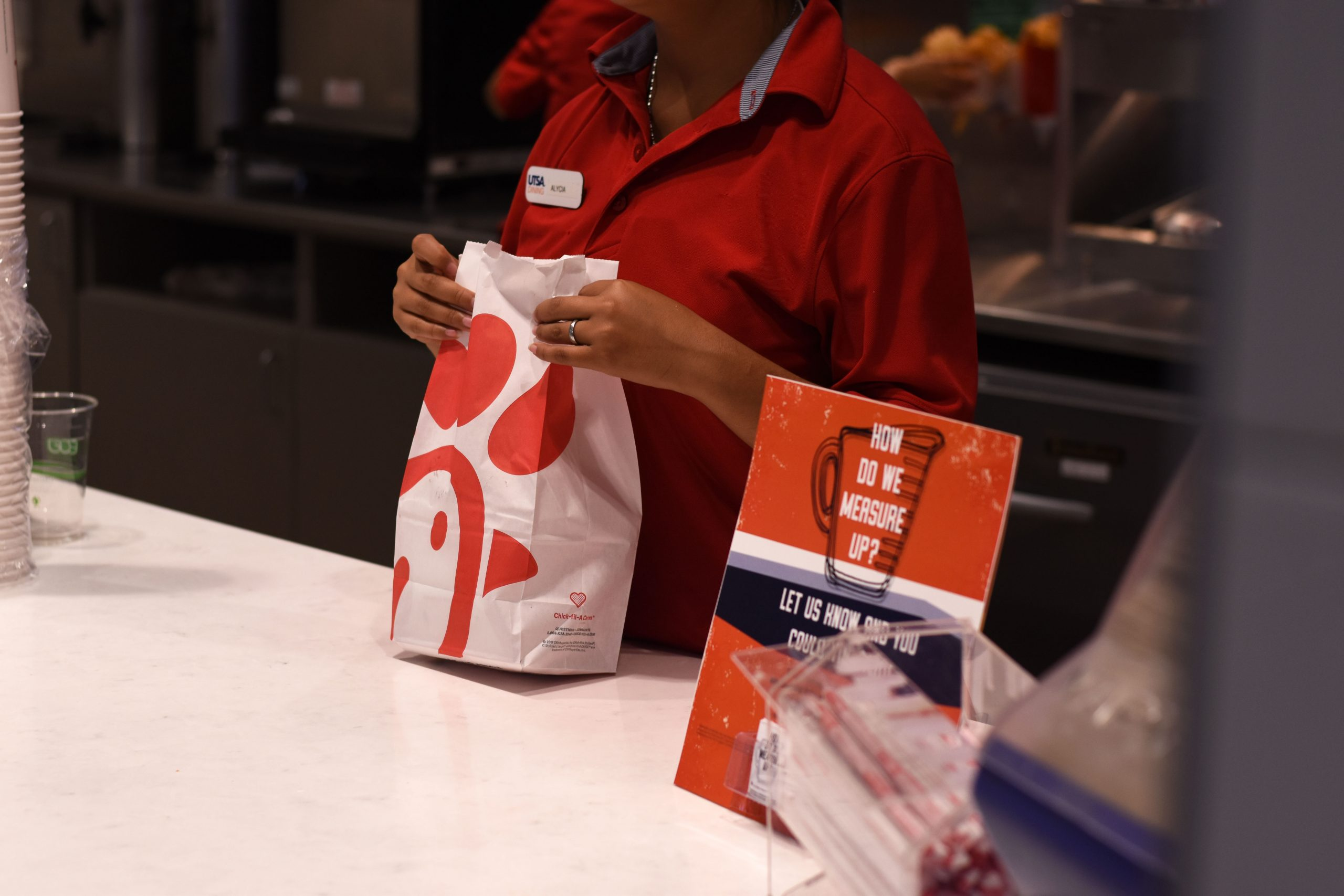 Chick-fil-A excluded from approved airport food vendors for the San Antonio International Airport. Jack Myer /The Paisano