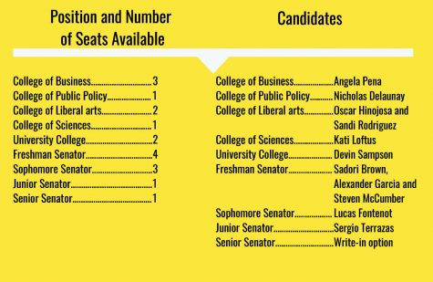 Student government holds elections